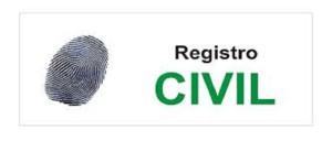 Notas informativas Registro Civil Central.